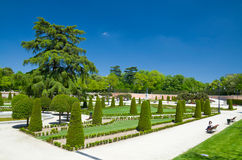 The Buen Retiro Park in Madrid Royalty Free Stock Photography