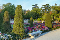 Buen Retiro Park, Madrid Royalty Free Stock Image