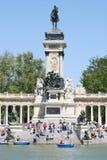 Buen Retiro Park. Madrid (Spain) Stock Image