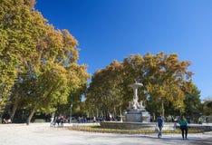 The Buen Retiro Park in Madrid, Spain Stock Photo