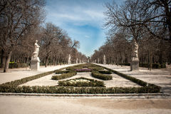 Buen retiro park Stock Photo
