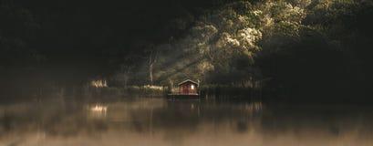 buen retiro sevilla Испания парка madrid озера дома de glorieta стоковые изображения rf