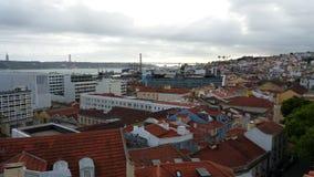 Buena imagen de Lisboa Portugal imagenes de archivo