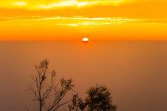 Buena mañana, luz hermosa 2 de la salida del sol Fotos de archivo
