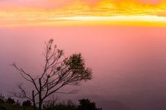 Buena mañana, luz hermosa 5 de la salida del sol Imagen de archivo libre de regalías