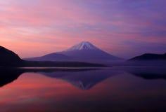 Buena mañana Mt. Fuji foto de archivo