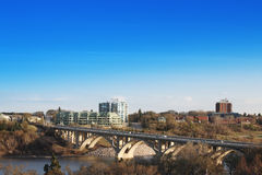 Buena mañana Saskatoon Imagen de archivo libre de regalías