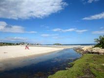 Buena playa del puerto, Gloucester, Massachusetts foto de archivo libre de regalías