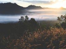 Buena salida del sol de la buena visión fotografía de archivo libre de regalías