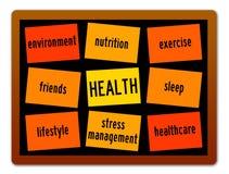 Buena salud ilustración del vector
