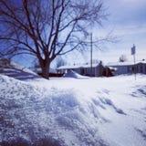 Buena vida de la nieve Imagen de archivo libre de regalías