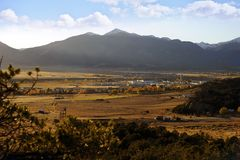 Buena Vista Colorado stockfoto