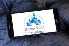 Buena vista logo. Logo of the american buena vista pictures on samsung mobile phone Stock Photos