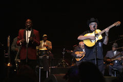 Buena Vista Social Club concert in Hungary Stock Images