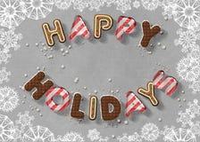 Buenas fiestas fotografía de archivo libre de regalías