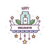 Buenas fiestas Ilustración del vector Imagen de archivo libre de regalías