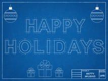 Buenas fiestas 2016 - modelo Fotos de archivo libres de regalías