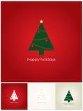 Buenas fiestas tarjeta Fotos de archivo