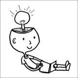 Buenas ideas del libro de lectura libre illustration
