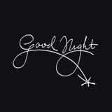 Buenas noches Imágenes de archivo libres de regalías