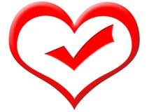Bueno en el corazón Foto de archivo libre de regalías