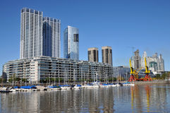Buenos Aires. Puerto Madero, touristic district in Buenos Aires, Argentina Stock Images