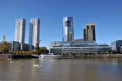 Buenos Aires. Modern buildings in Buenos Aires, Argentina Royalty Free Stock Photography