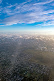 Buenos aires aerial view cityscape Royalty Free Stock Images