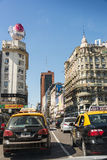 Buenos Aires, Argentina - April 9, 2015: Driving through Corrien Stock Photos