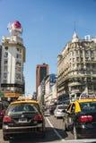 Buenos Aires, Argentina - 9 de abril de 2015: Condução com Corrien Fotos de Stock