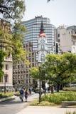 BUENOS AIRES, ARGENTINA - 30 DE JANEIRO DE 2018: O obelisco um major Fotos de Stock Royalty Free