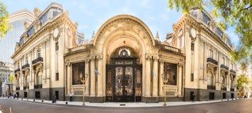 Palacio San Martin (San Martin Palace) Buenos Aires, Argentina. Buenos Aires, Argentina - March 21th, 2018: Panoramic view of the Palacio San Martin, located Stock Photos