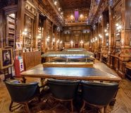 Congress Library at National Congress of Argentina - Buenos Aires, Argentina Stock Photo