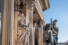 Detail of Recoleta Cemetery - Buenos Aires, Argentina royalty free stock photography