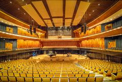 Symphonic Concert Hall at Kirchner Cultural Centre Centro Cultural Kirchner CCK - Buenos Aires, Argentina royalty free stock photo