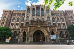 Buenos Aires, Argentina - November 18, 2018: Engineering Faculty, UBA university
