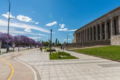 Buenos Aires, Argentina - November 18, 2018: Outsides of the Law Faculty