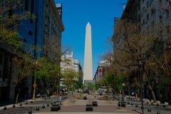Obelisk of Buenos Aires El Obelisco stock image