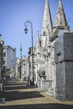 BUENOS AIRES - Argentina: Recoleta Cemetery, Argentina. RECOLETA CEMETERY: The rich and famous Argentinian buried including Evita Peron. Buenos Aires, Argentina Royalty Free Stock Image
