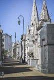 BUENOS AIRES - Argentina: Recoleta kyrkogård, Argentina royaltyfri bild