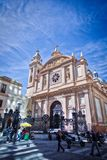 La merced church in Buenos Aires stock images