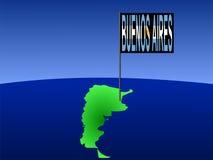 Buenos Aires Argentine illustration de vecteur