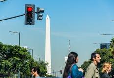 Buenos Aires Argentyna, Kwiecień, - 9, 2015: Niezidentyfikowany biznes p Obraz Stock