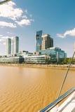 BUENOS AIRES ARGENTYNA, MAJ, - 09, 2017: Kabla system Puente Zdjęcie Stock