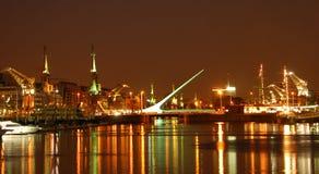 Buenos Aires bis zum Night Lizenzfreies Stockbild
