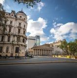 Buenos Aires céntrico y catedral metropolitana - Buenos Aires, la Argentina imagenes de archivo