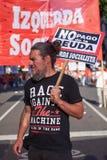 Buenos Aires, C A B A , Argentinien - 30. November 2018: Protest des Gipfels g20, Buenos Aires lizenzfreie stockfotos