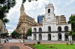 Buenos Aires Cabildo Royalty Free Stock Photos