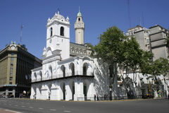 Buenos Aires Cabildo, South America Royalty Free Stock Photos