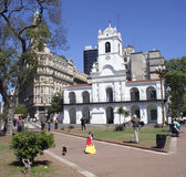 Buenos Aires Cabildo, South America Royalty Free Stock Image